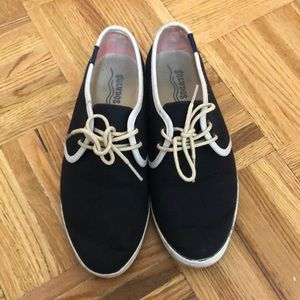 Soludos Navy Sneaker